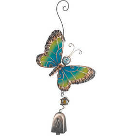 Regal Art & Gift 10562 Butterfly Ornament With Bell