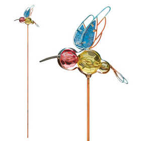 Regal Art & Gift 10947 Jeweled Bug Stake - Hummingbird