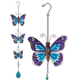 Regal Art & Gift 10905 Hanging Decor Butterly - Purple