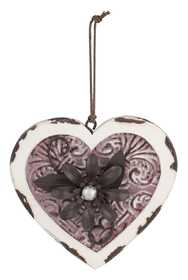Regal Art & Gift 20161 Heart Floral Ornament