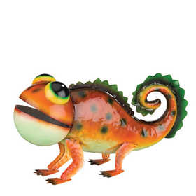 Regal Art & Gift 10964 Gecko Decor - Orange Spotted