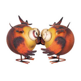 Regal Art & Gift 11137 Hooties Decor Kissing
