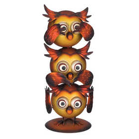 Regal Art & Gift 11139 Hooties Decor No Evil