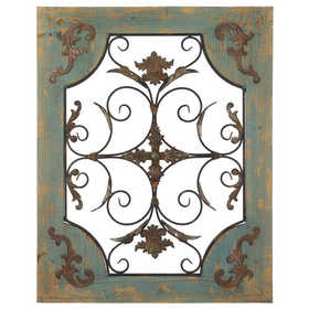 Regal Art & Gift 11289 Metal And Wood Window Decor