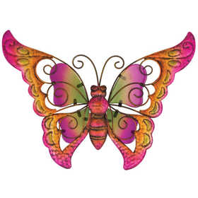 Regal Art & Gift 11269 Butterfly Wall Decor 9 in - Pink