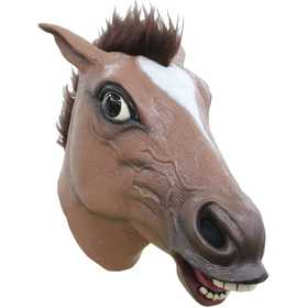 GHOULISH PRODUCTIONS 26485 Brown Horse Mask
