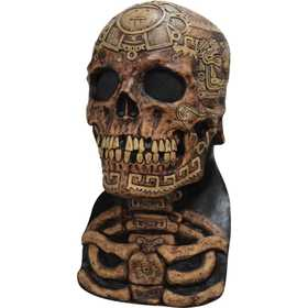 GHOULISH PRODUCTIONS 26588 AZTEC SKULL Mask