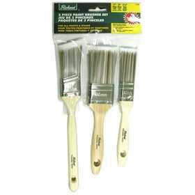 Richard Tools 81303 Paint Brush Set (1 in , 2 in Straight, 1-1/2 in Angular)