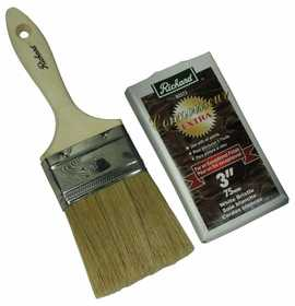 Richard Tools 82573 3 in Straight Paint Brush Connoisseur Extra Series