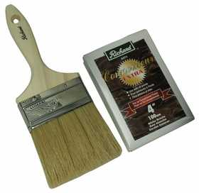 Richard Tools 82574 4 in Straight Paint Brush Connoisseur Extra Series