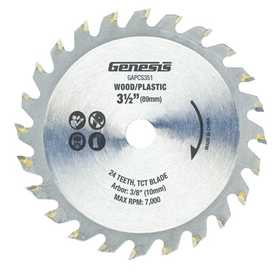 Richpower Industries GAPCS351 3-1/2 in 24t Tct Saw Blade