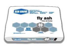 Ash Grove 00182 Fly Ash Type C 80 Lbs