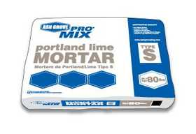 Ash Grove 00186 Blended Mortar Portland Lime Type S 80 Lbs