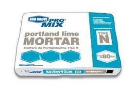 Ash Grove 00212 Blended Mortar Portland Lime Type N 80 Lbs