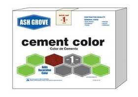 Ash Grove 476 Cement Color Black 1 Lbs