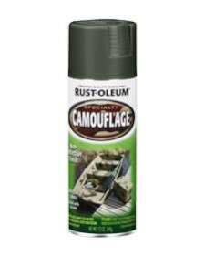Rust-Oleum 1919830 Camouflage Deep Forest Green 12 oz Spray Paint