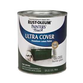 Rust-Oleum 1938502 Painters Touch Hunter Green Qt