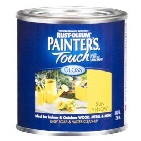 Rust-Oleum 1945730 Painters Touch Sun Yellow 1/2 Pt