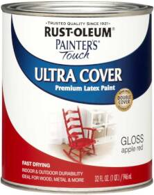 Rust-Oleum 1966502 Painters Touch Apple Red Qt