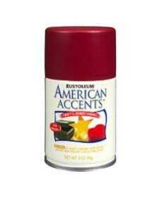 Rust-Oleum 209671 Colonial Red Satin 3 oz Spray Paint