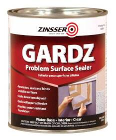 Zinsser 2304 Gardz Damage Drywall Sealer Qt