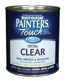 Rust-Oleum 242057 Painters Touch Gloss Clear Qt
