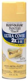 Rust-Oleum 249064 Painters Touch 2x Satin Summer Squash Spray Paint