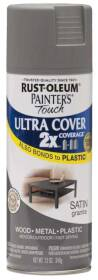Rust-Oleum 249078 Painters Touch 2x Satin Granite Spray Paint