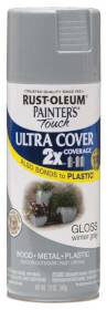 Rust-Oleum 249089 Painters Touch 2x Gloss Winter Gray Spray Paint