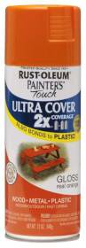 Rust-Oleum 249095 Painters Touch 2x Gloss Real Orange Spray Paint