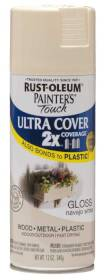 Rust-Oleum 249099 Painters Touch 2x Gloss Navajo White Spray Paint
