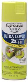 Rust-Oleum 249104 Painters Touch 2x Gloss Key Lime Spray Paint