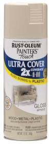 Rust-Oleum 249125 Painters Touch 2x Gloss Almond Spray Paint