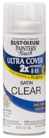 Rust-Oleum 249845 Painters Touch 2x Satin Clear Spray Paint