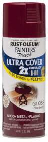 Rust-Oleum 249863 Painters Touch 2x Gloss Cranberry Spray Paint
