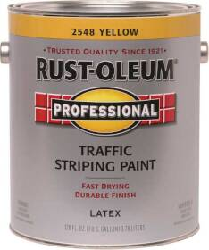 Rust-Oleum 2548402 Traffic Striping Handicap Yellow Gal