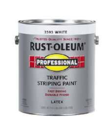 Rust-Oleum 2593402 Traffic Striping Handicap White Gal