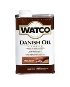 Watco 65441 Watco Danish Oil Stain Fruitwood Qt