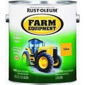 Rust-Oleum 7449402 Farm Equipment Paint Caterpillar Yellow Gal