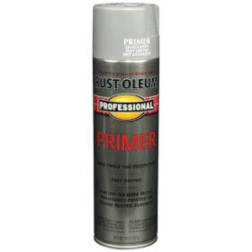Rust-Oleum 7582838 Professional Enamel Gray Primer 15 oz Spray