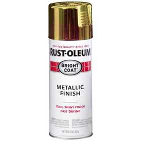 Rust-Oleum 7710830 Stops Rust Interior Metallic Spray Paint Gold