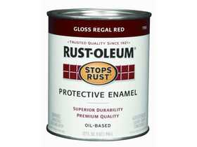 Rust-Oleum 7765502 Stops Rust Paint Regal Red Qt