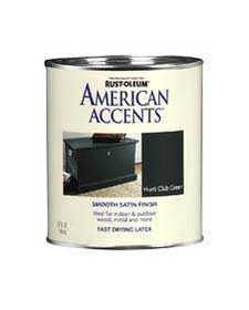 Rust-Oleum 7944502 American Accent Hunt Club Green Qt