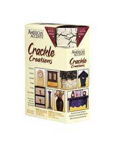 Rust-Oleum 7971802 American Accents Crackle Creations Kit Antiqued Ivory