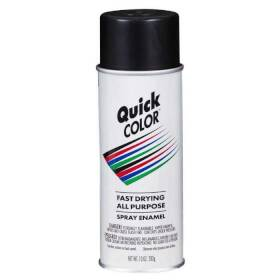 Quick Color J2851830 Quick Color Spray Paint Black