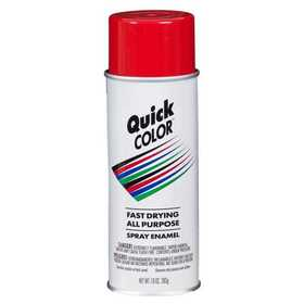 Quick Color J2855830 Quick Color Spray Paint Red