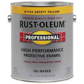Rust-Oleum K7744402 Safety Yellow Low Voc Gloss Enamel