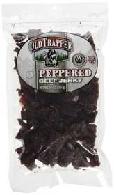 Old Trapper 5431 Traditional Style Peppered Beef Jerky, 10 oz