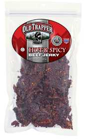 Old Trapper 5432 Hot And Spicy Beef Jerky, 10 oz