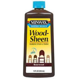 Minwax 27426304512 Woodsheen Finish Rosewood 12 oz Water Based